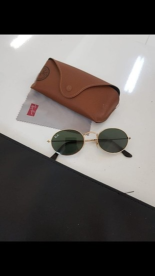 rayban round metal oval