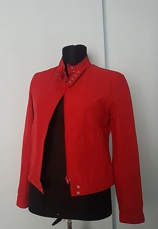 kırmızı s beden ceket