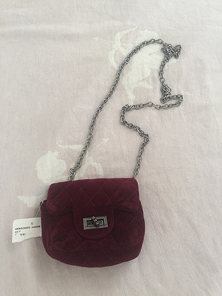 Kadife mini çanta