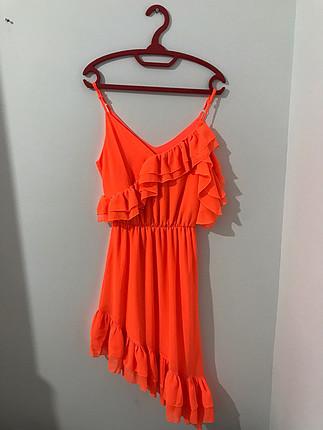 Neon elbise