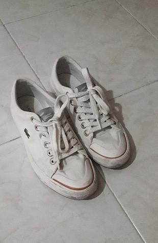 lacoste bez ayakkabı
