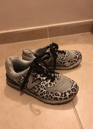 New Balance Leopar Spor Ayakkabı