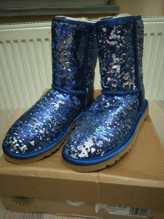 Ugg Classic Short Sparkles W9 Ayakkabı