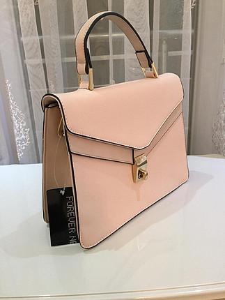 Forever New Yeni etiketli pudra pembesi çanta????