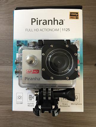 Sıfırdan Farksız Piranha Aksiyon - Su Altı Kamerası