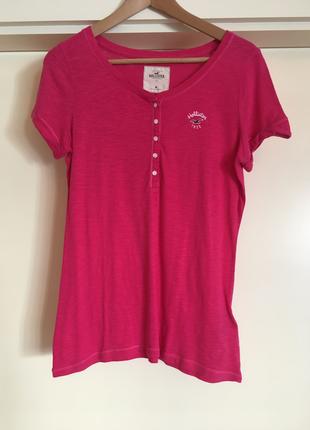 Pembe T-Shirt Hollister