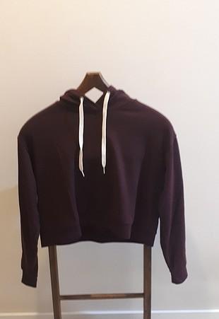 H&M kısa sweatshirt