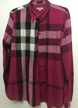 Burbery Uzun gömlek