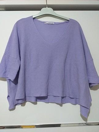 lila bluz