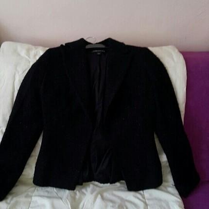 Bayan siyah ceket