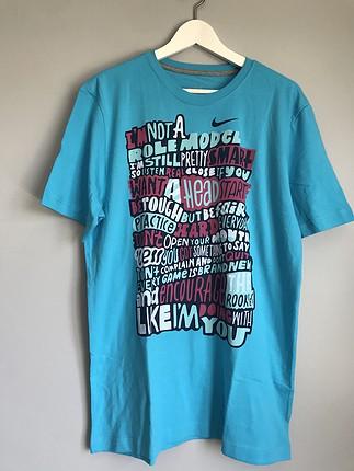 Nike mavi tişört yeni