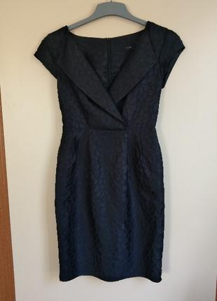 Lacivert Davet Elbisesi Elbise