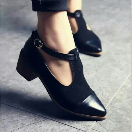 vintage tarz ayakkabı