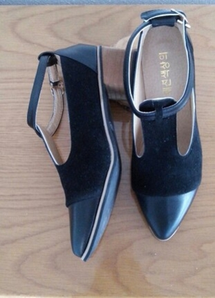 38 Beden vintage tarz ayakkabı