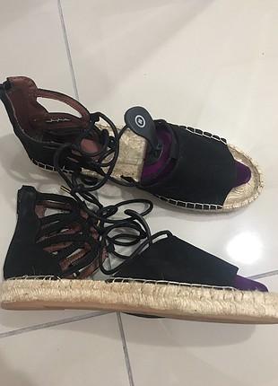 H&M hasır sandalet