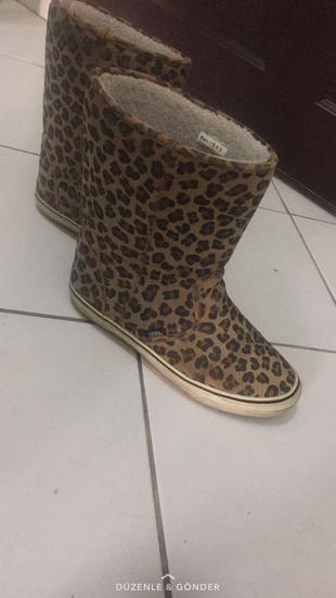 Vans leopar cizme