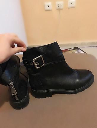 Zara Zara siyah deri bot
