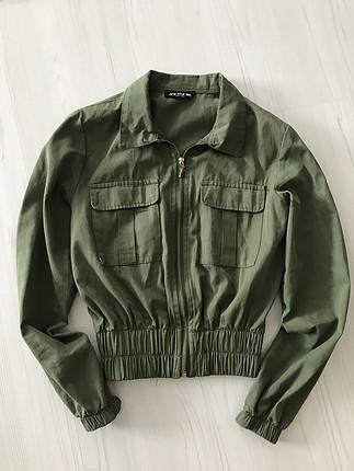 Asker yeşili ceket
