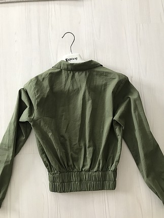Zara Asker yeşili ceket