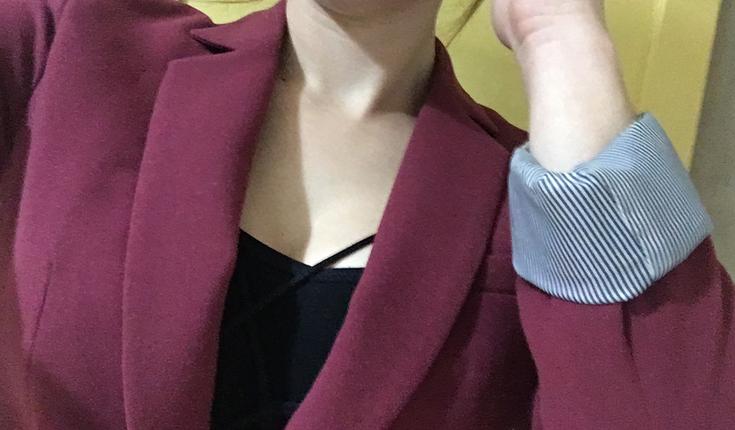 s Beden Bershka blazer ceket