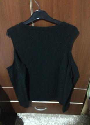 H&M S beden omzu açık bluz hiç giyilmedi