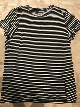 Çizgili T Shirt American Apparel