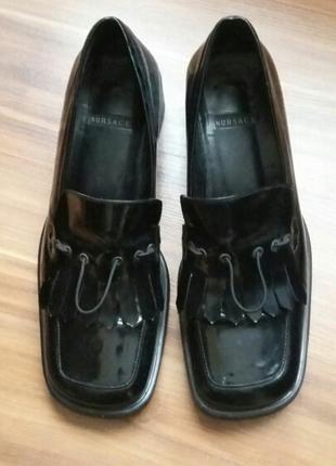 Hakiki Deri Vintage Ayakkabı Nursace