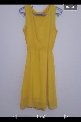 Sarı Elbise Aeropostale