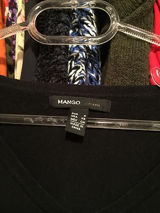 Mango Mango düz siyah elbise