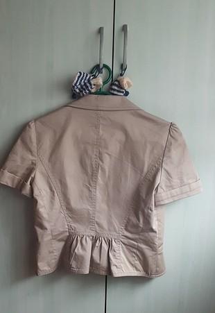 Koton krem kısa ceket