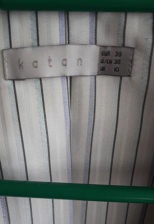 38 Beden krem kısa ceket