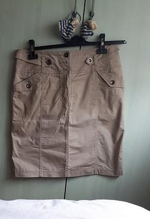 38 Beden ekru Renk krem kısa ceket