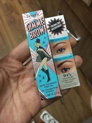 Benefit sıfır tam boy gimme brow 5 numara