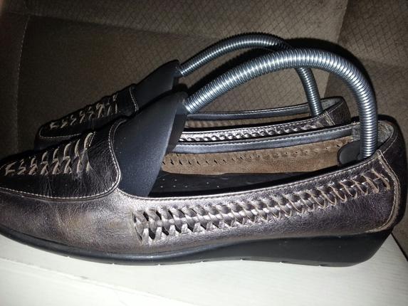 Marks&spencer Gümüş Rengi Babet Ayakkabı