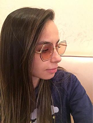diğer Beden pembe Renk Chloe güneş gözlüğü