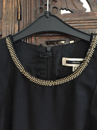 İpekyol Siyah Elbise Ofis stili