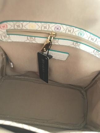 universal Beden beyaz Renk Vakko sıfır sırt çantası