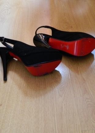 F & F Siyah 37 Numara Süet Ayakkabı