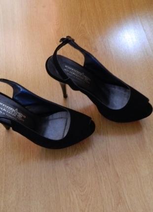 37 Beden Siyah 37 Numara Süet Ayakkabı