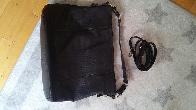universal Beden derimod siyah çanta