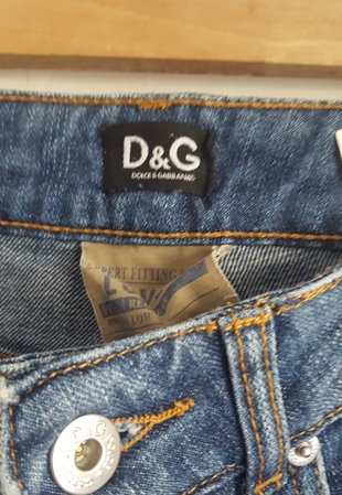 Kot Pantolon Dolce   Gabbana Jean   Kot %100 İndirimli - Gardrops fa71876956a6