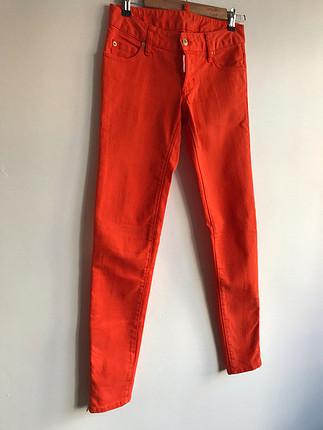 DSquared2 Turuncu kot pantolon