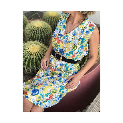 Özel dikim vintage elbise