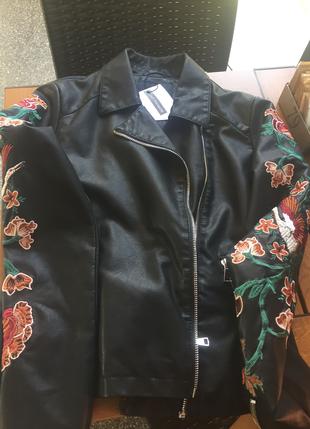 Hiç Giyilmedi Deri Ceket ADL