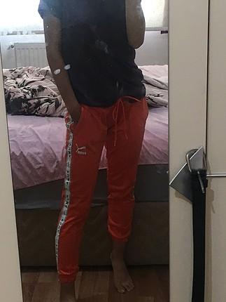 s Beden turuncu Renk Puma eşofman altı