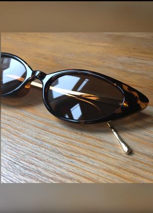 universal Beden 90?lar retro cat eye leopar desenli güneş gözlüğü