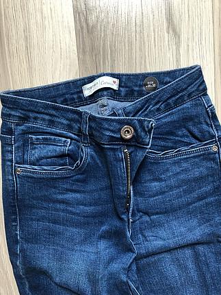 diğer Beden mavi Renk Koton jean