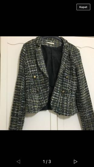 Moda Kısa Ceket Blazer