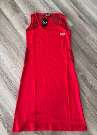 Kırmızı Elbise Armani Jeans
