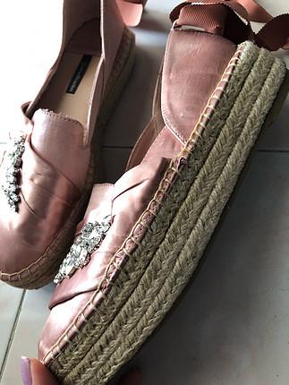 Stradivarius Bağcıklı ayakkabı